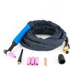 Сварочная горелка для аргонодуговой сварки TIG WP26 (воздушное охлаждение)