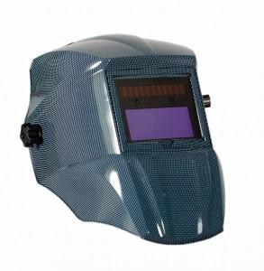 Сварочная маска Mitech Blue Carbon