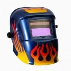 Сварочная маска Mitech Blue Flame